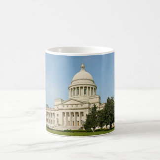 Panorama of the Arkansas State Capitol Building Coffee Mug