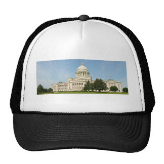 Panorama of the Arkansas State Capitol Building Trucker Hat