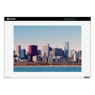 Panorama of the Chicago skyline Skin For Laptop