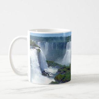 Panorama of the Iguazu Waterfalls from Brazil Classic White Coffee Mug