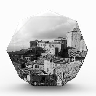 Panorama of Volterra village, province of Pisa Acrylic Award