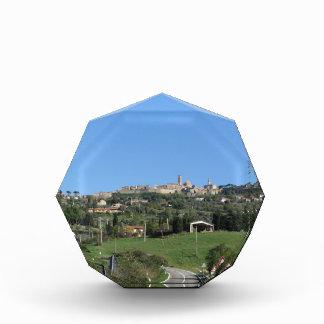 Panorama of Volterra village, province of Pisa Award