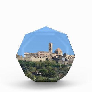 Panorama of Volterra village . Tuscany, Italy Acrylic Award