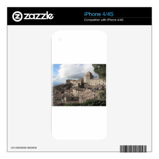 Panorama of Volterra village, Tuscany, Italy iPhone 4S Decal