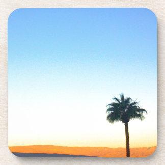 Panorama Palms Drink Coaster