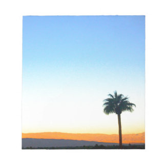Panorama Palms Memo Note Pads
