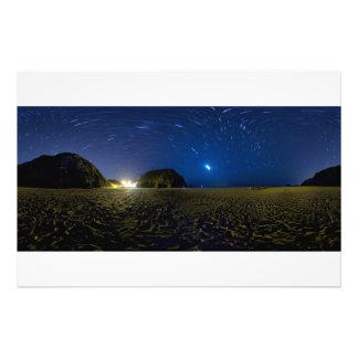 Panorama photographic paper photo print