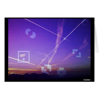 Panorama Sunrise 3 Card