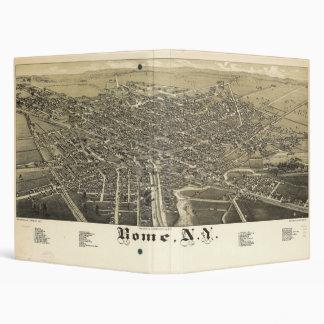 Panorama View of Rome New York (1886) Binder