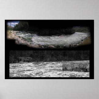 Panoramas de Whitewater Póster