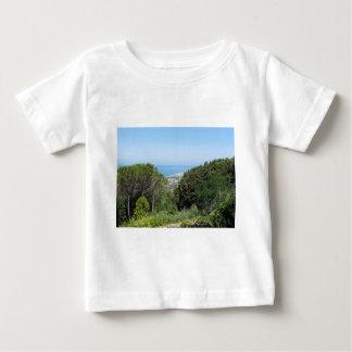 Panoramic aerial view of Livorno city Baby T-Shirt