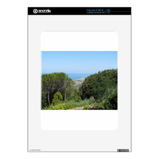 Panoramic aerial view of Livorno city Skin For iPad