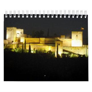 Panoramic almanac of the Alhambra Calendar