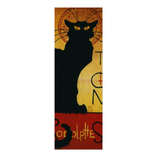 Panoramic Chat Noir Poster