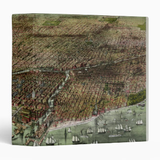 Panoramic Chicago 1892 Binder