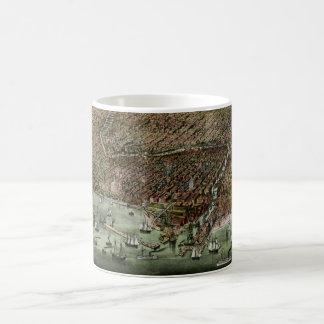 Panoramic Chicago Lakefront Coffee Mug