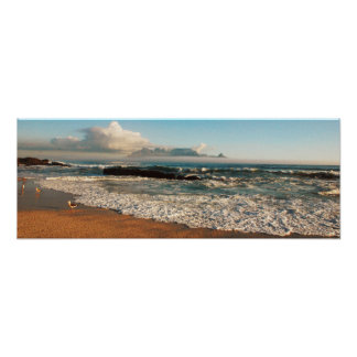 Panoramic coastal prints of South Africa Poster