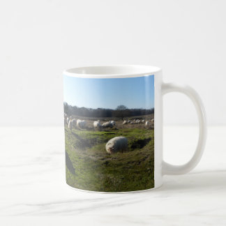 Panoramic Heathland with Sheep Mug