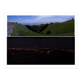 Panoramic Highway 1 Postcard