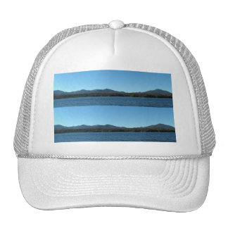 Panoramic Mountain View 2 Bookmark Trucker Hat