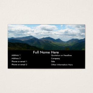 Bookmark business cards templates zazzle panoramic mountain view bookmark business card colourmoves