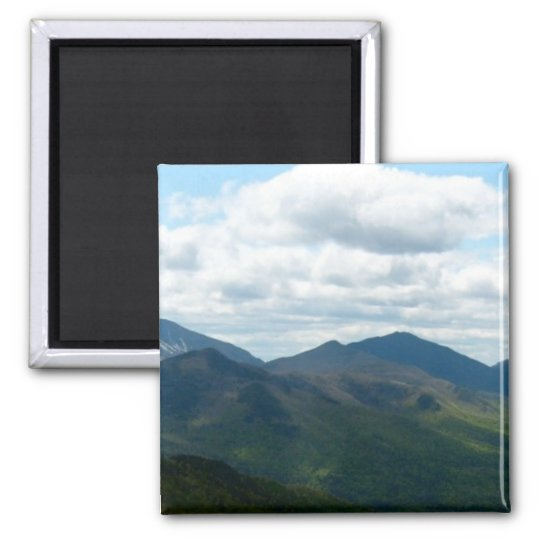 Panoramic Mountain View Bookmark Magnet