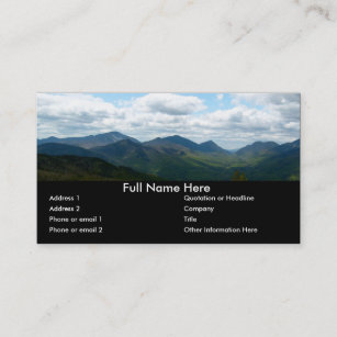 Bookmark business cards zazzle panoramic mountain view bookmark business card colourmoves