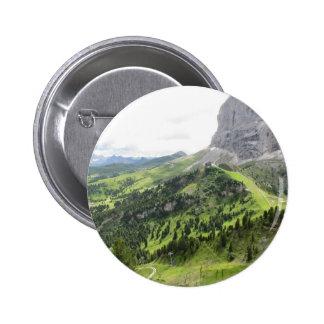 Panoramic mountain view button