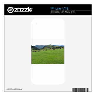 Panoramic mountain view iPhone 4S decal