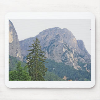 Panoramic mountain view mouse pad