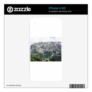 Panoramic mountain view skins for iPhone 4