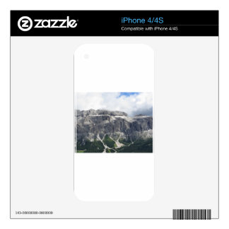 Panoramic mountain view skins for iPhone 4S