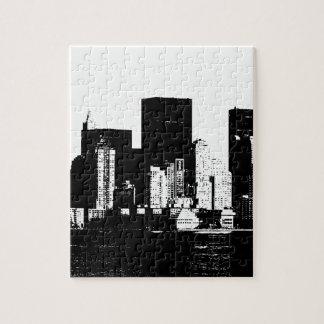 Panoramic New York City Jigsaw Puzzle