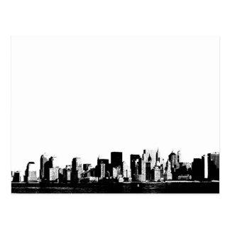 Panoramic New York City Postcard