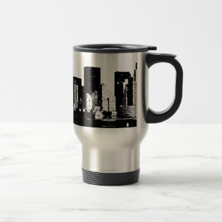 Panoramic New York City Travel Mug
