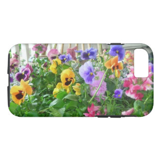 Panoramic Pansies iPhone 7 case