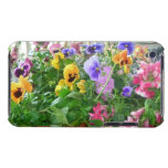 Panoramic Pansies iPod Touch case
