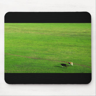 Panoramic Pasture Mouse Pad