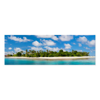 Panoramic seascape Double-Sided mini business cards (Pack of 20)