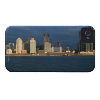 'Panoramic sunrise view of Renaissance Center, iPhone 4 Cover