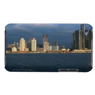 'Panoramic sunrise view of Renaissance Center, iPod Touch Cover