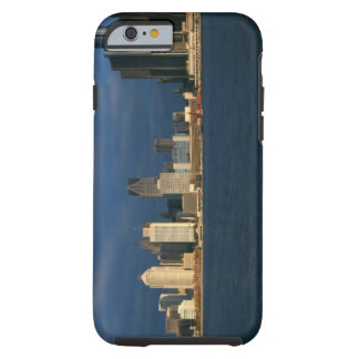 'Panoramic sunrise view of Renaissance Center, Tough iPhone 6 Case