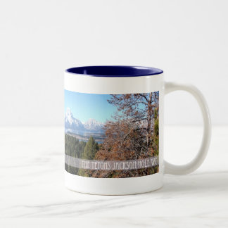 Panoramic Tetons mug