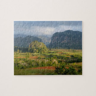 Panoramic valley landscape, Cuba Jigsaw Puzzle