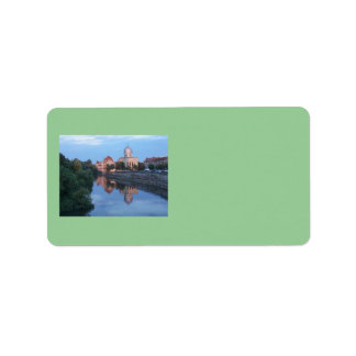 Panoramic View Address Label