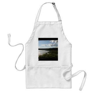 Panoramic view adult apron