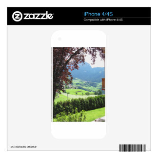 Panoramic view decals for iPhone 4S