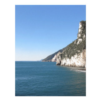 Panoramic view from Portovenere Letterhead