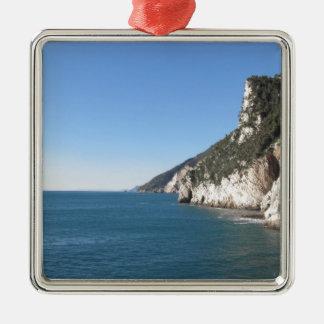 Panoramic view from Portovenere Metal Ornament