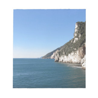 Panoramic view from Portovenere Notepad
